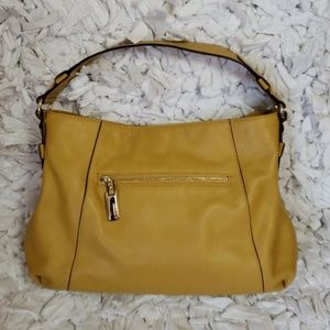 B. makowsky leather shoulder bag 13 X 10